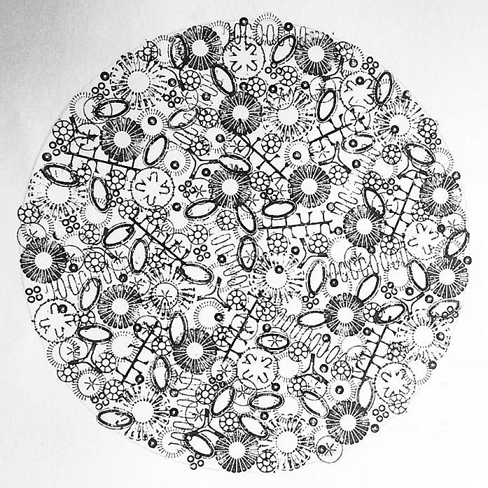 Gyre print (2016) Jo Atherton